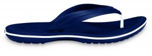 Crocband Flip Flop - Navy Blue & White