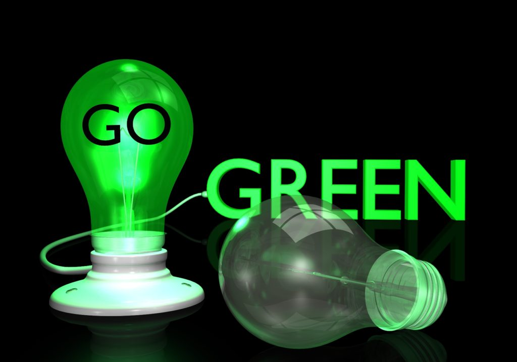 Green, light, bulb, electric, appreciation