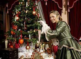 Victorial Christmas, nutcracker, punch &  judy, santa, Christmas, Christmas tree, Victorian