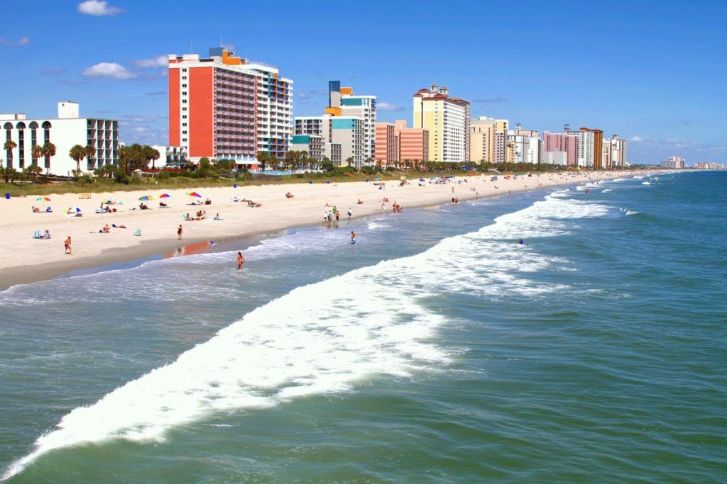 HEALTH DEPARTMENT SWIMMING NOT ADVISED IN MYRTLE BEACH