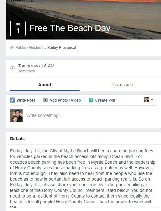 Free Beach Day