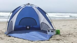 Beach Tent Banned