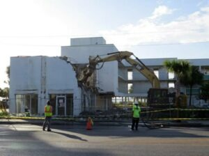 Tearing Down Emerald Shores