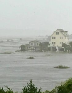 Oceanfront Flooded Homes