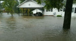 Flooded Myrtle Beach Area Home