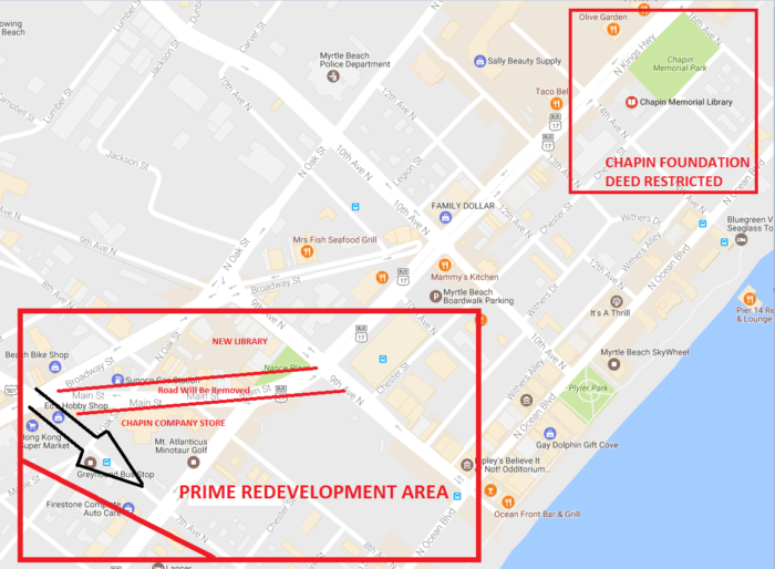 Redevelopment Key Map