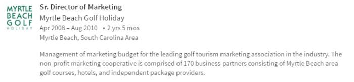 Steve Mays Golf Holiday