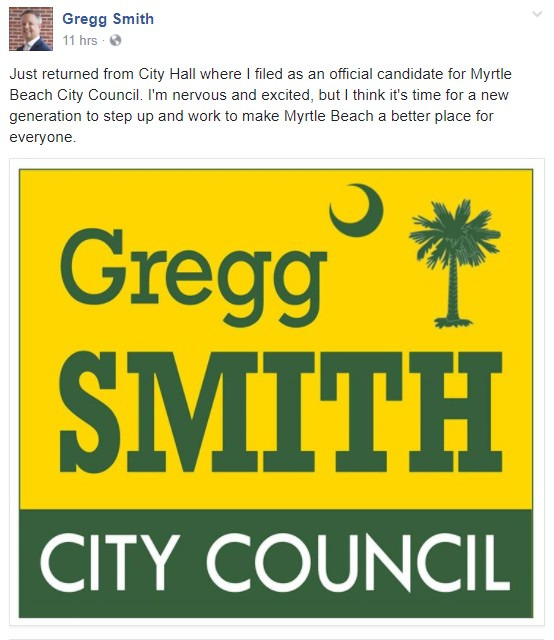 Gregg Smith City Council