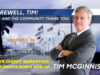 Farewell Tim McGinnis