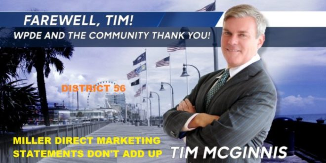 Farewell Tim McGinnis