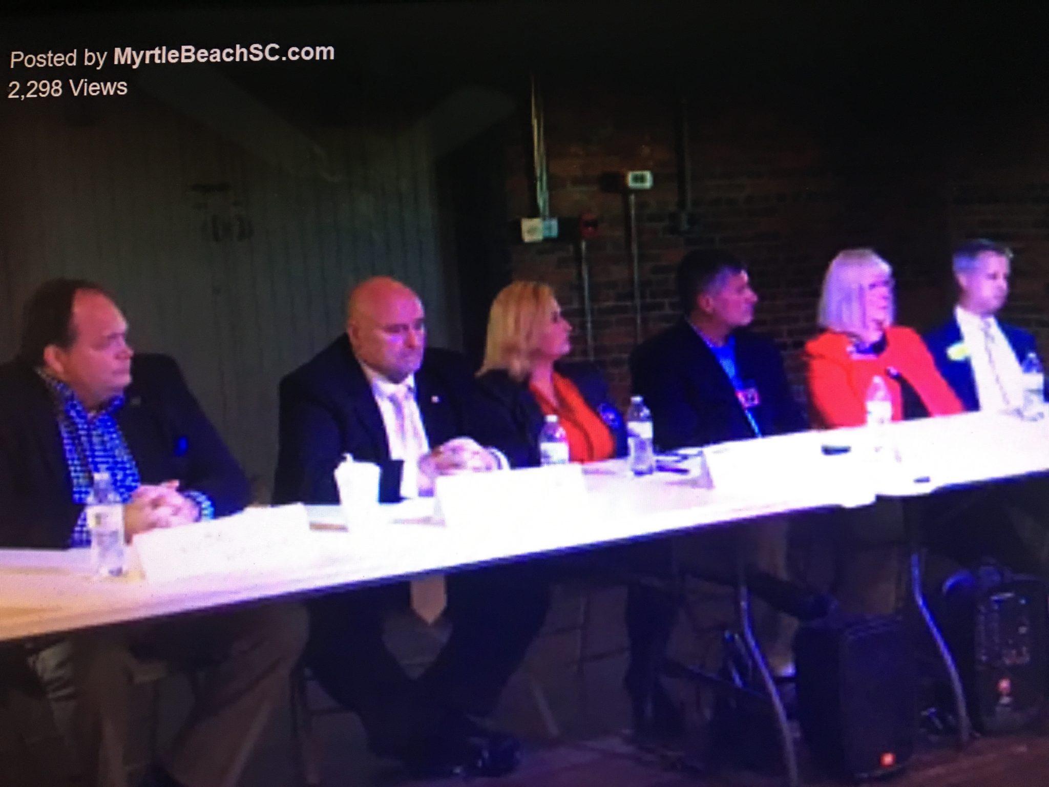 Myrtle Beach Council Debate NAACP