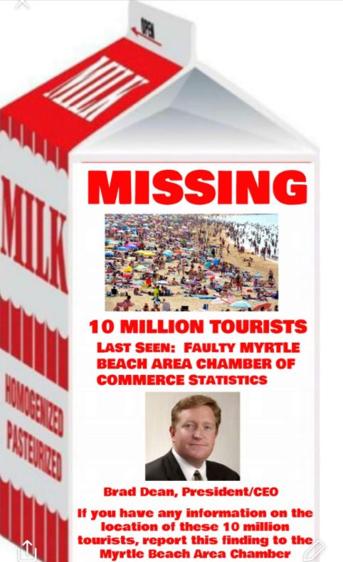 Lost Tourists On Milk Carton