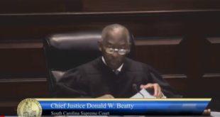 S.C. Chief Supreme Justice