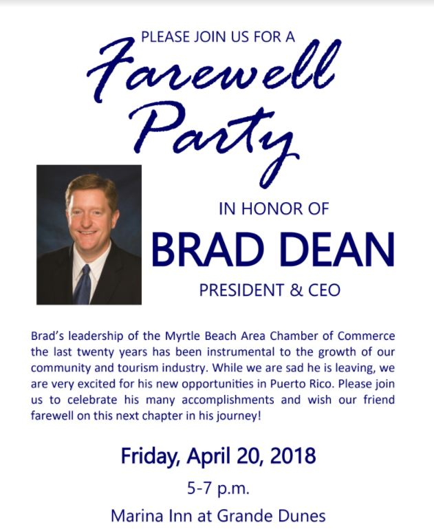 Farewell Brad