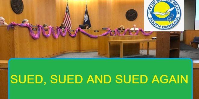MB City Council Sued