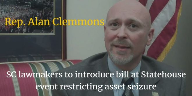 Clemmons Introduces Law Restricting Police Seizures When No Arrests Are Made