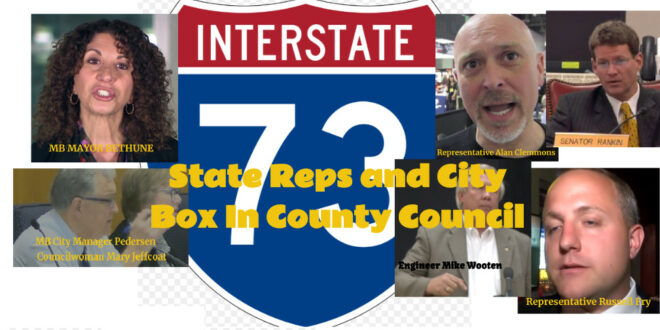 Residents pressured by local reps and city to pay for I-73