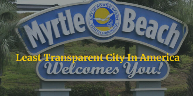 Myrtle Beach continues to run Horry County