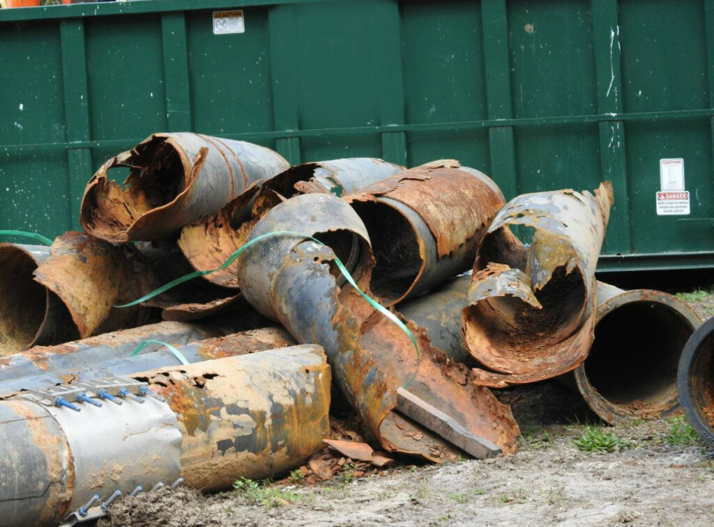 Myrtle Beach Sewage Pipes