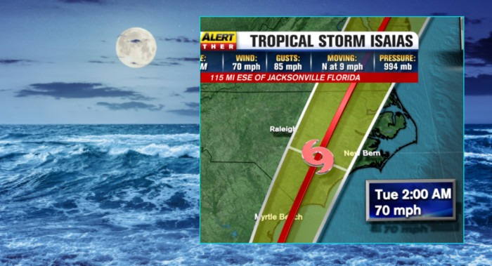 Tropical Storm Isias