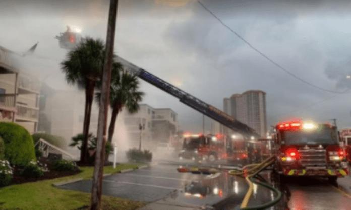 Shore Drive Fire